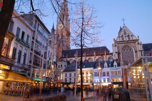 Antwerpen at Night